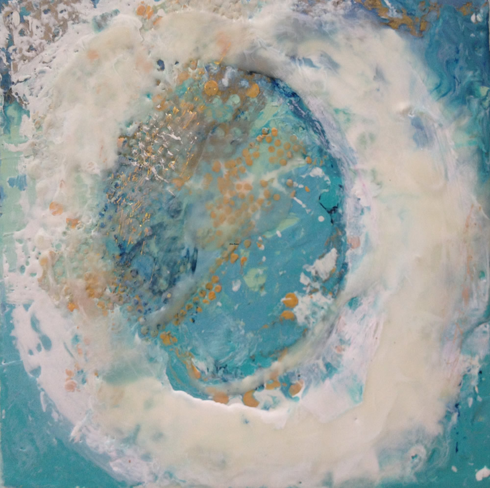 Encaustic by Ana Bass