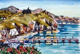 Avila Pier by Ken Christensen