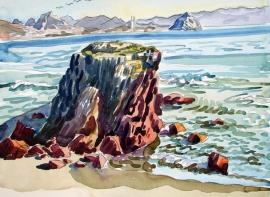 Colorful Coast by Ken Christensen