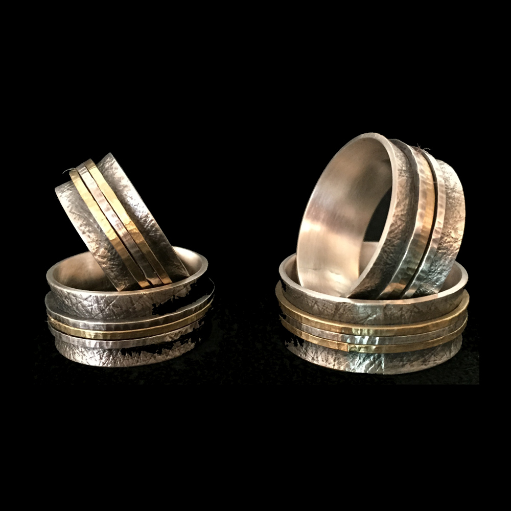 Band Rings by Linda Lewis