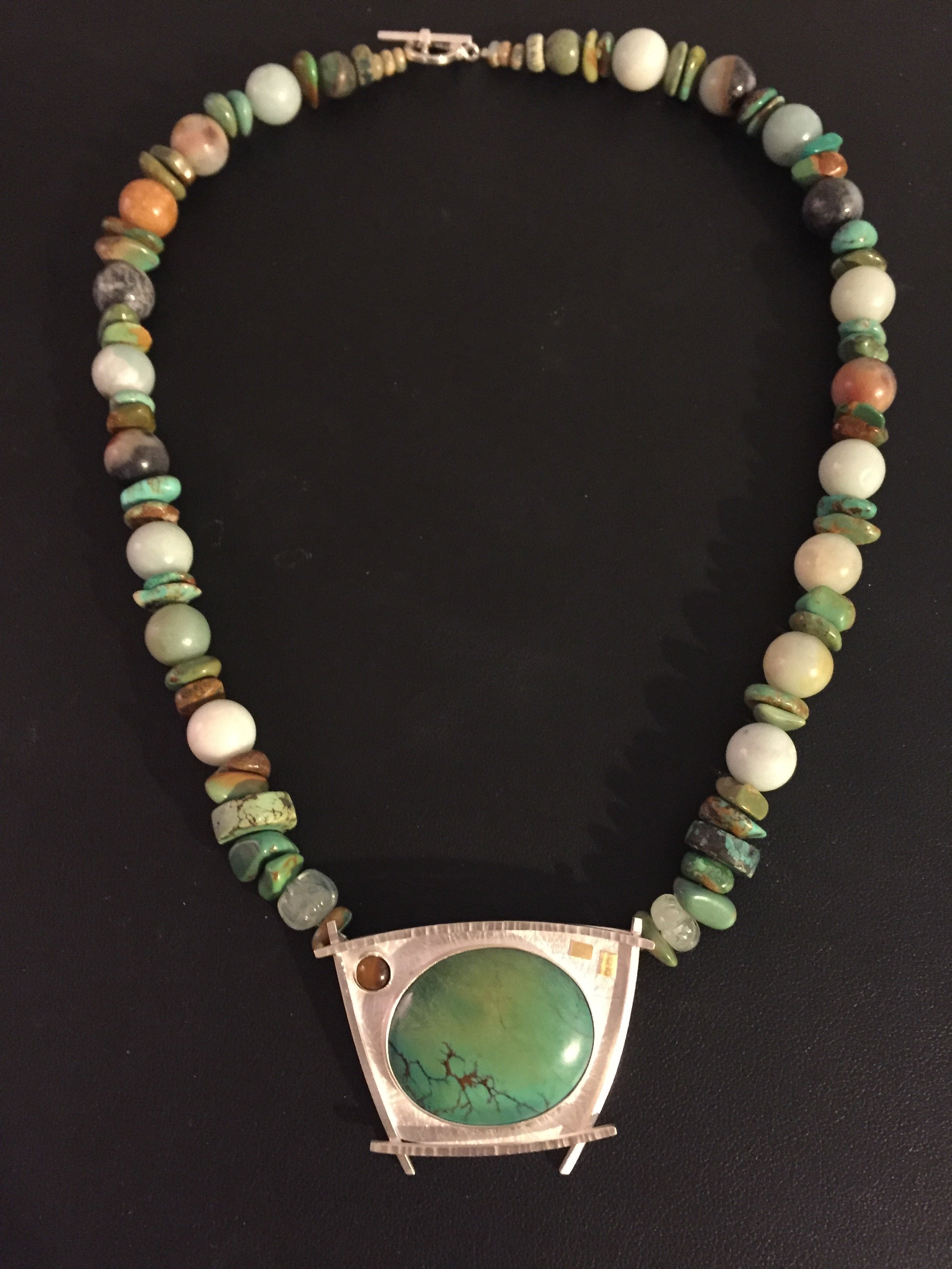 Turquoise Necklace by Linda Lewis