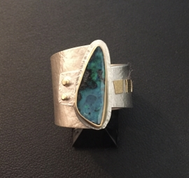 Boulder Opal Ring by Linda Lewis