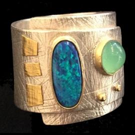 Opal Ring by Linda Lewis
