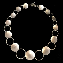 Sterling Silver Necklace by Linda Lewis
