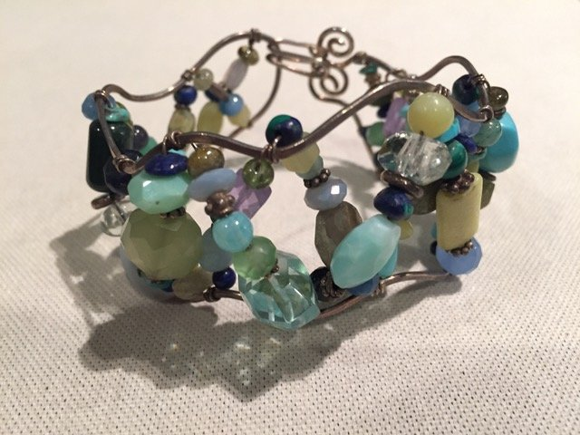 Bead Bracelet by Sharon Gove