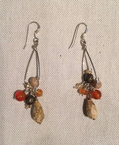 Bead Earrings by Sharon Gove