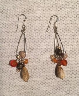 Bead Earrings by Sharon Gove