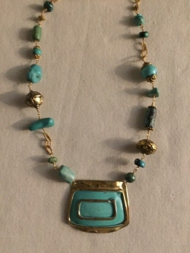 Turquoise Necklace by Sharon Gove